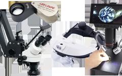 ルーペ・顕微鏡