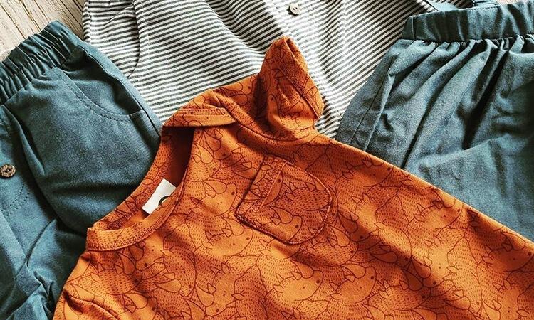 オーガニックコットンの子供服