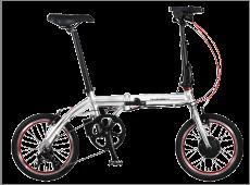 防災する自転車2「トランス・モバイリー・ネクスト163」色:シルバー