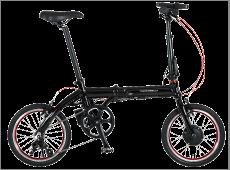 防災する自転車2「トランス・モバイリー・ネクスト163」色:ブラック