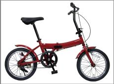 備蓄する自転車「折りたたみノーパンク自転車エアロ」