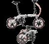 防災する自転車II(ツー)《SEISHOPオリジナル トランス・モバイリー・ネクスト163(標準装備(16インチ/折りたたみ電動アシスト自転車)+ノーパンクタイヤ+折りたたみペダル)》100%完組出荷(届いてすぐ乗れます)