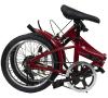 備蓄する自転車(ミニベロ・フォールディングバイク):16インチの折りたたみコンパクト自転車(ノーパンクタイヤ、専用キャリーバッグ付)