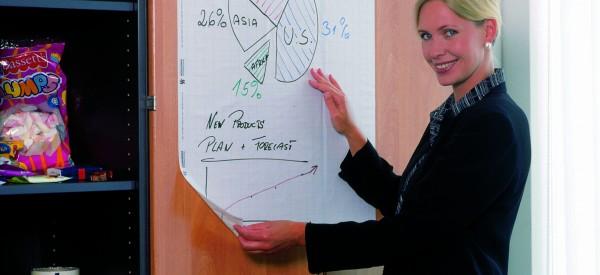 フォリオコンタクトは、ホワイトボードのように書き消しできます。
