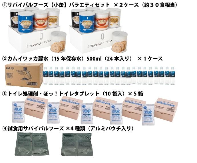 食・水・トイレ セット