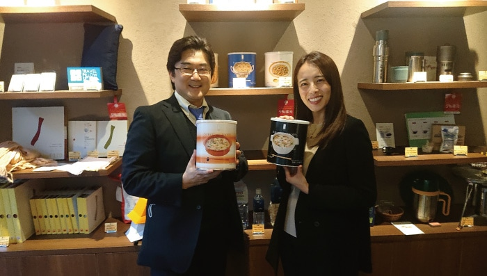文化放送ラジオ「なな→きゅう」セイショップ取材:パーソナリティ・上田まりえさん