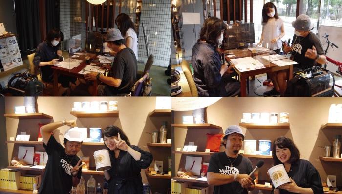 ニッポン放送「辛坊治郎 ズーム そこまで言うか!」ATOM(根本朋之)さんに来店いただきました。(中継・生放送)