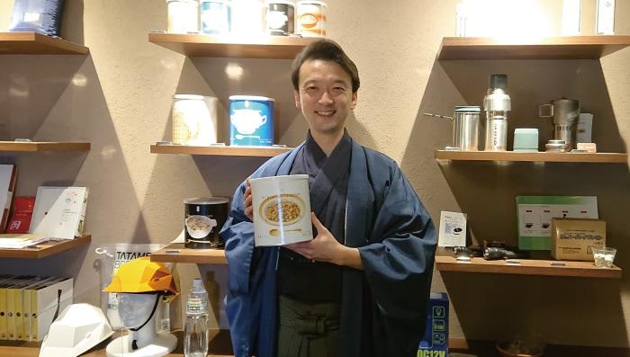 武田宗典(能楽師・観世流シテ方・重要無形文化財総合指定保持者)さんに来店頂きました。