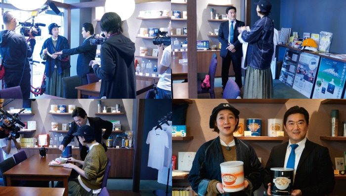 フジテレビ「ノンストップ!」:「ミニバスで行く!東京ちょこっと旅」で虻川美穂子(お笑いコンビ/北陽)さんにセイショップにご来店いたきました。