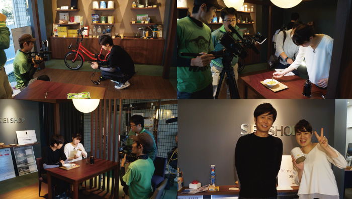TOKYO MXテレビ「トーカ堂 ときめきサンデー」の人気コーナー「ときめきリサーチ」で俳優の水沢駿さんが来店され非常食「サバイバルフーズ」や災害用のトイレ処理剤「ほっ!トイレタブレット」「スタンレー真空コーヒーシステム・オールインワン」「防災する自転車」などを紹介いただきました。