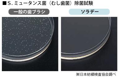 S.ミュータンス菌(虫歯菌)の繁殖を抑制
