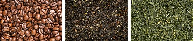 珈琲と紅茶(茶)の効能 について