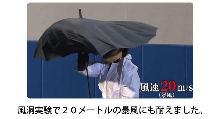耐風設計・FRP(繊維強化プラスチック)採用:風洞実験20メートルの暴風に耐える強度