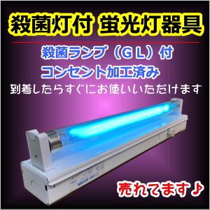 殺菌灯付蛍光灯器具