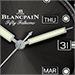 ブランパン  5071 1110 B52A   フィフティ・ファゾムス・バチスカーフ アニュアルカレンダー