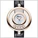 ショパール 209415-5001 ハッピー ダイヤモンド 26 MM  アイコンウォッチ(ブラックアリゲーター)