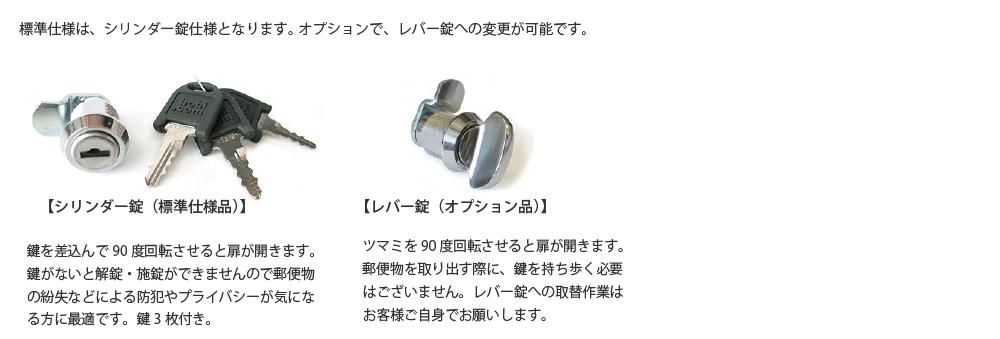 ボビの錠の説明