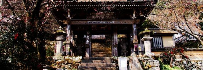 古代 富貴寺の山門