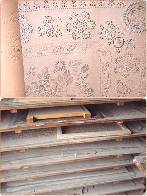 型紙(花板)