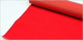 無反射背景布 スーペリア ビロード レッド 1.5m×7.2m / Superior