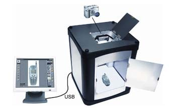 3D画像、3D写真撮影機Photosimile 200の写真