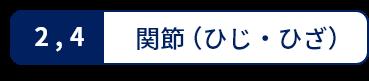 関節(ひじ・ひざ)
