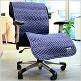 スリムな50cm巾だからオフィスの椅子や新幹線、飛行機、出張先にも・・・
