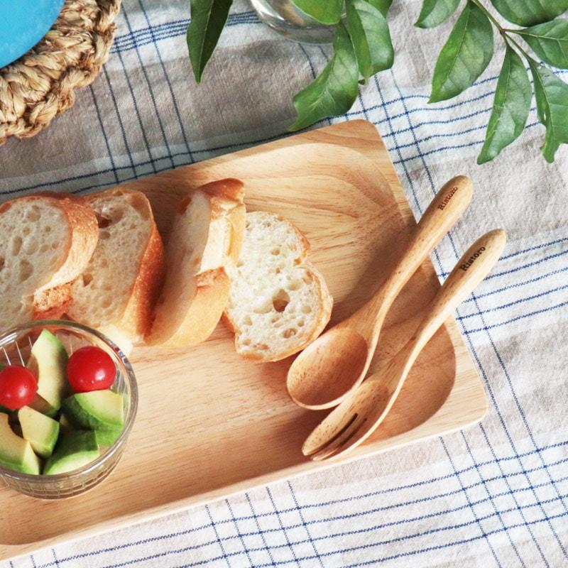 皿 木製 おしゃれ キャンプ 北欧 割れない 仕切り プレート アウトドア ピクニック リストロ