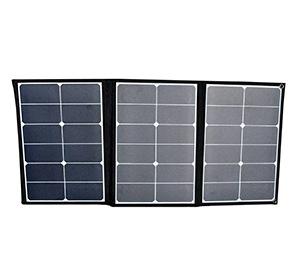三金商事 折り畳み式 ソーラーパネル充電器 60W DC/USB出力対応 SOPA-60