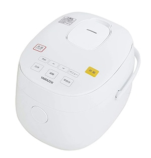 山善 糖質を減らせる マイコン炊飯器 糖質カット炊飯ジャー 3合炊き ホワイト YJF-M30CC