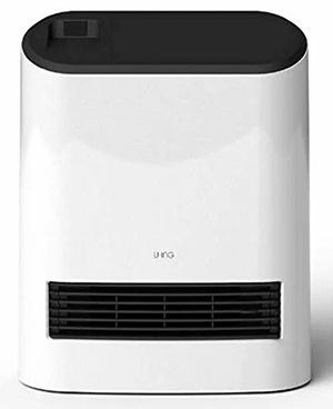 ユーイング セラミック温風ヒーター US-S1000L(W)
