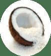 P-UP ボディヒーリングの素材のココナッツパウダー