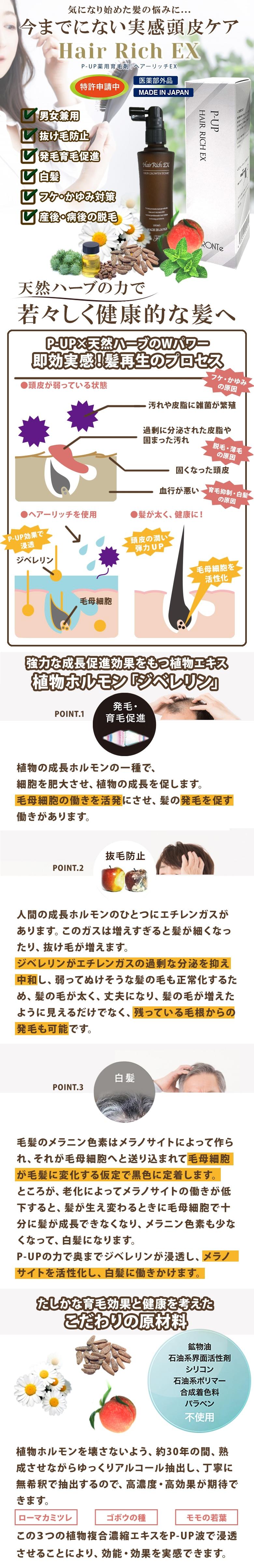 P-UP育毛剤
