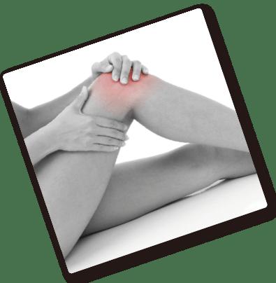 関節痛に悩む人の写真
