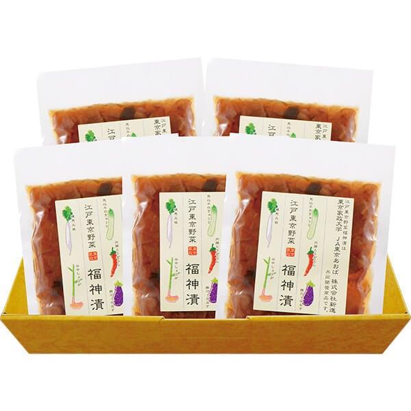 江戸東京野菜福神漬5点セット