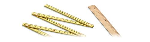 樹脂製・竹製直尺