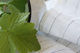 リネン製品の洗濯方法
