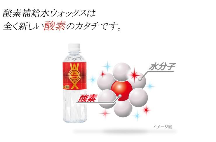 高濃度酸素水WOX-ウォックス