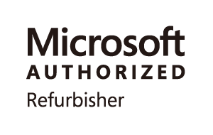 Microsoft社認定の正規MAR(Microsoft Authorized Refurbisher)ライセンス