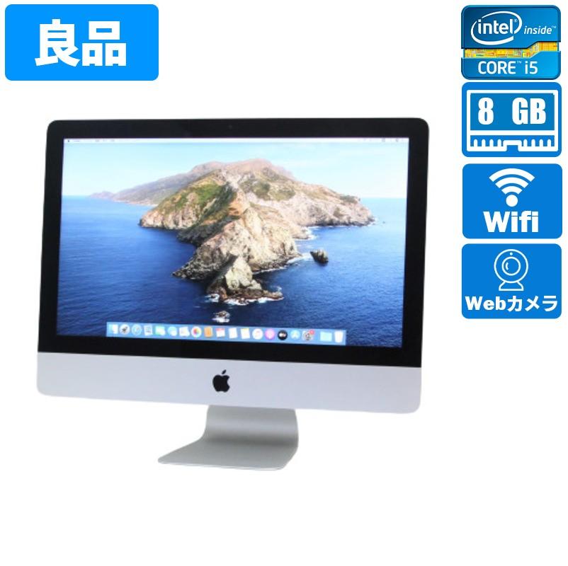 iMac14,4(Mid 2014)macOSCatalina10.15.7Intel(R)Core(TM)i5-4260U CPU@1.40GHz8GB(4GB×2)500GBHDD12.5インチ