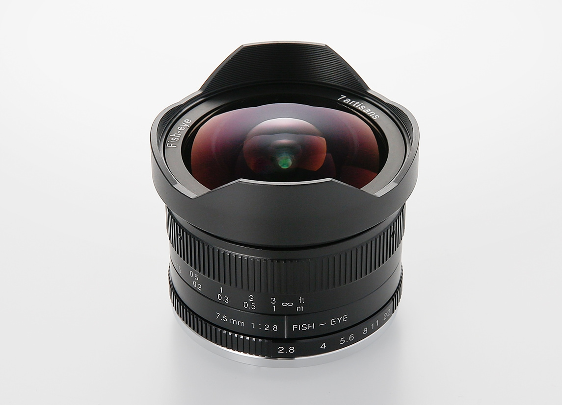 7Artisans 7.5mm F2.8 Fish-eye