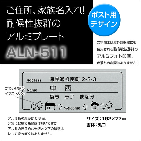 ALN-511商品詳細