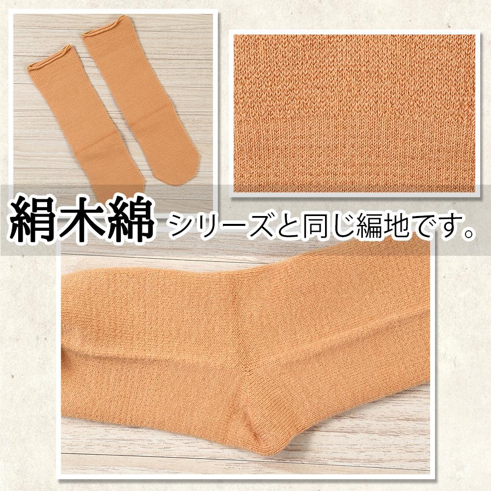 絹木綿シリーズと同じ編地です。