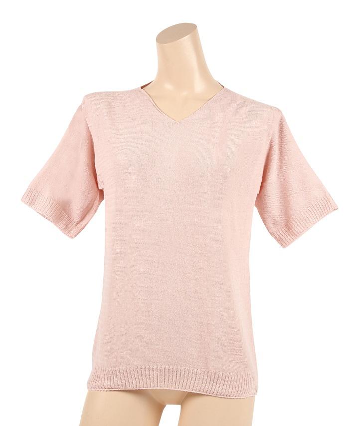 冷えとり ふんわりシャツ シルク&リネン