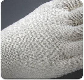 絹木綿5本指