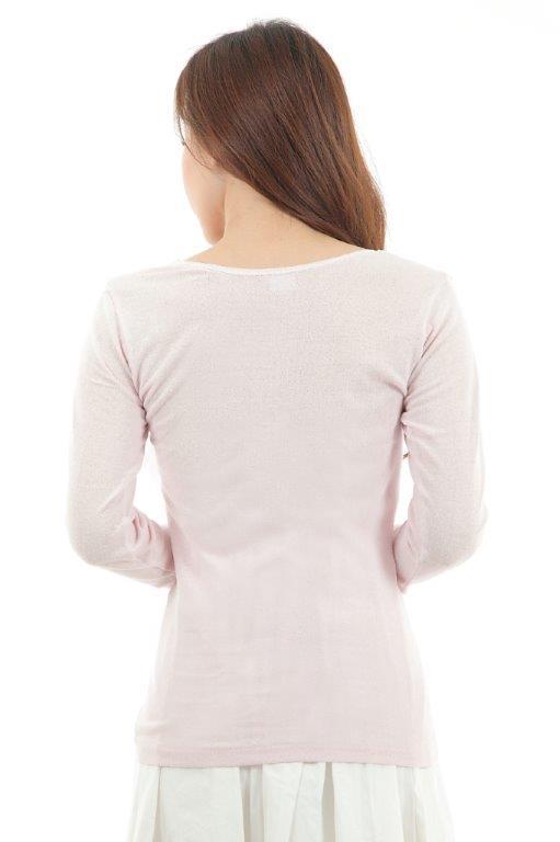 マシュマロ7分袖シャツ