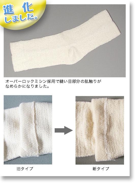 絹木綿サポーター ひざ用