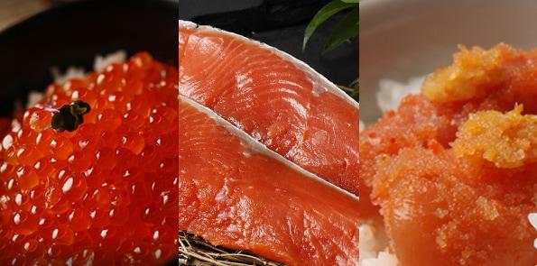 選べる明太子5種と時鮭切り身食べ比べギフト