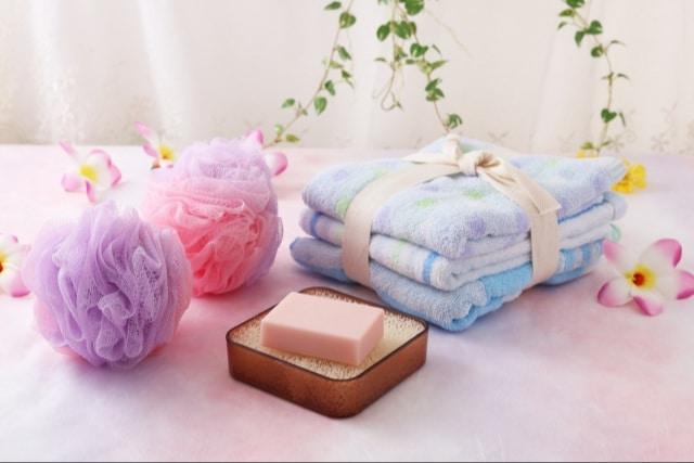 固形石鹸の置き方