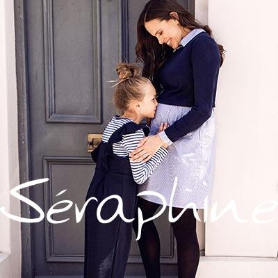 人気イギリスブランド<セラフィン Seraphine>のマタニティ&授乳服